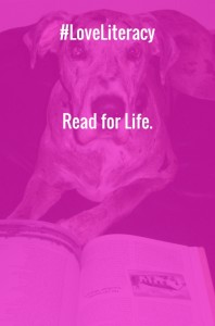 #LoveLiteracy Read for Life