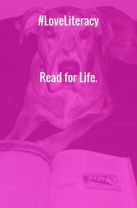 #LoveLiteracy Read for Life